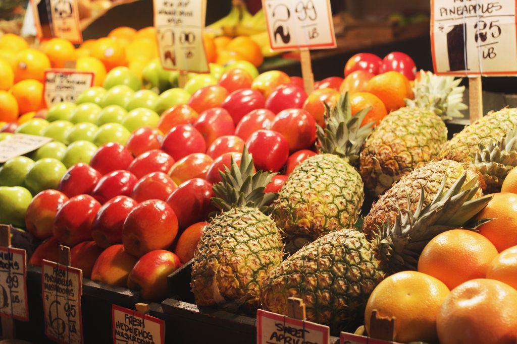 Farmer's Market Fruit Stall